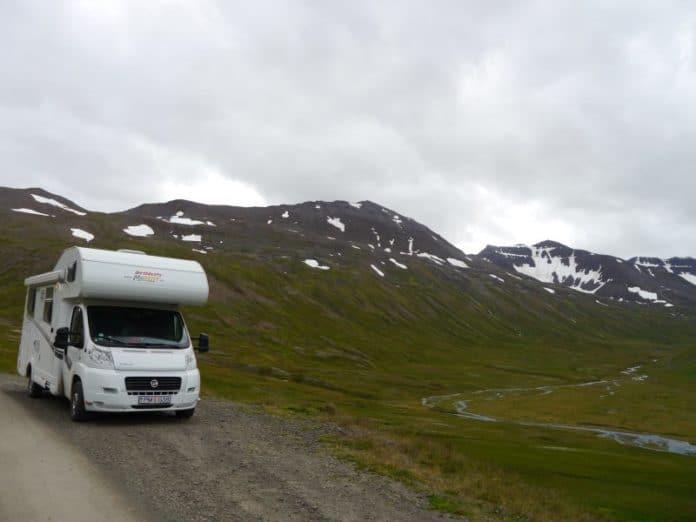 Camping car en Islande