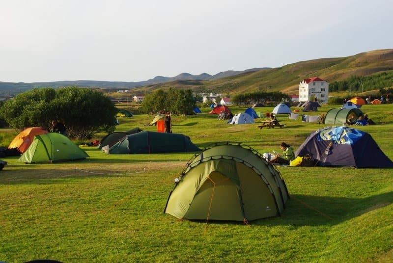 matelas camping islande