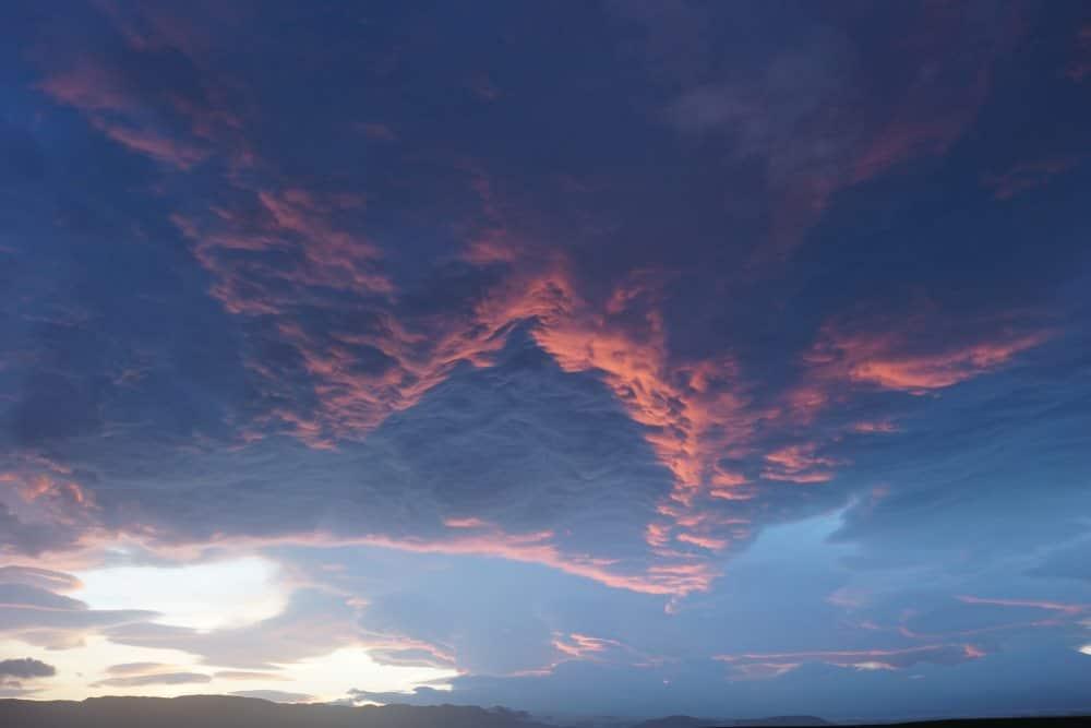 Ciel aux mille couleurs de l'Islande