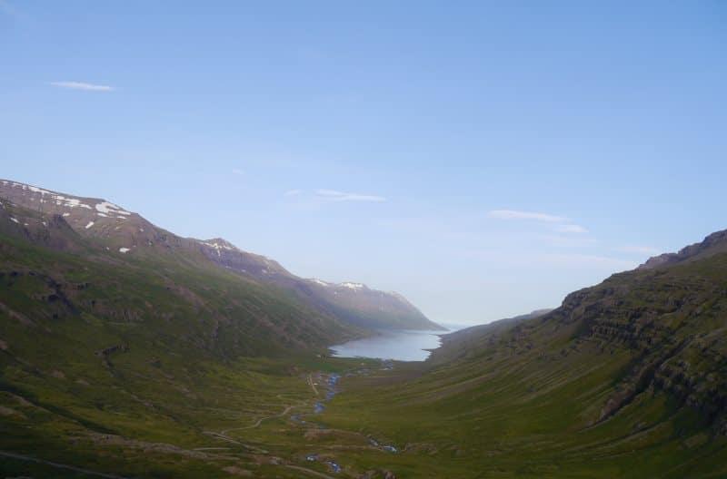 Fjord Islande Mjoifjordur