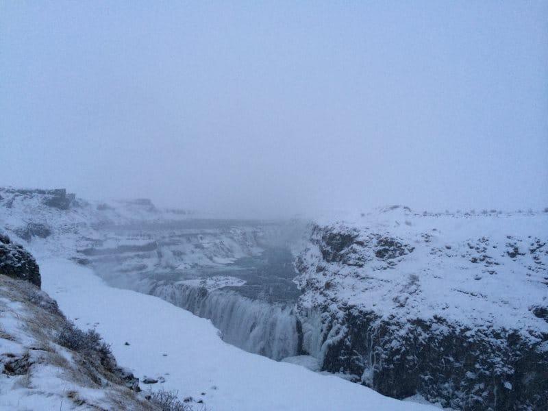 Islande encore sous la neige