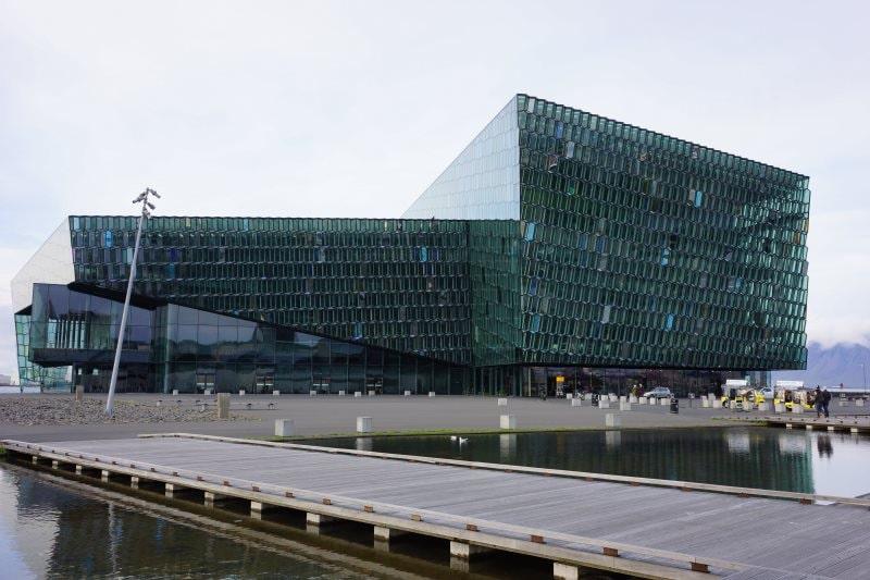 HARPA à Reykjavik