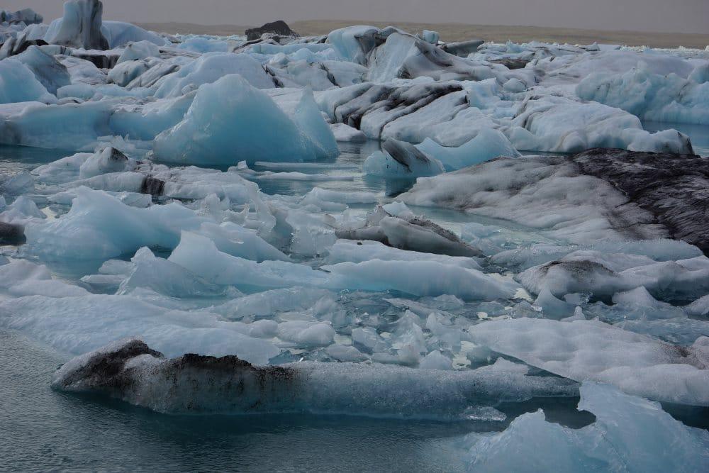 Lac Jokulsarlon en Islande