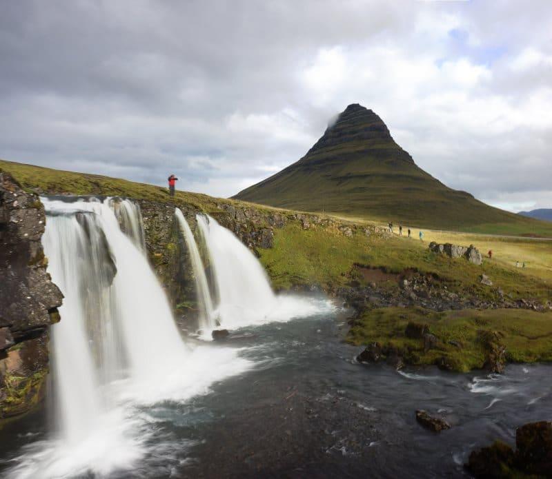 Montagne Kirkjufell en Islande