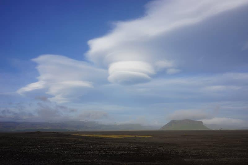 Nuage islandais