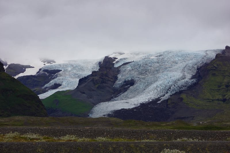 Glaciers du parc de Skaftafell