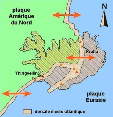 Plaque Islande