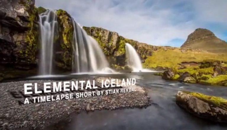 Time Lapse de la nature islandaise