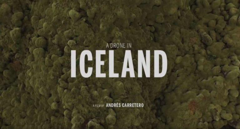 Islande : vidéo prise des airs