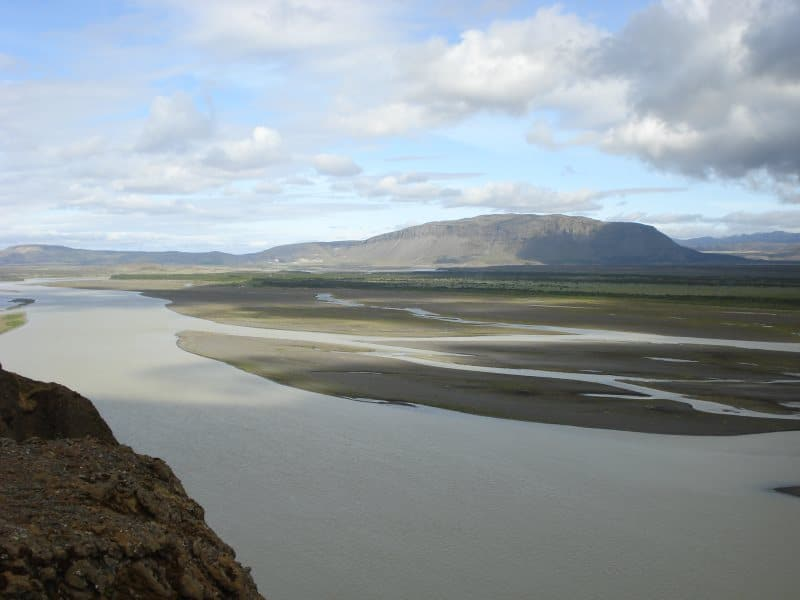 Þjórsá : le plus grand fleuve d'Islande