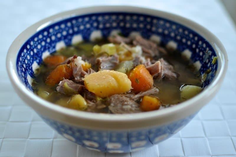 Kjötsupa soupe d'agneau Islande