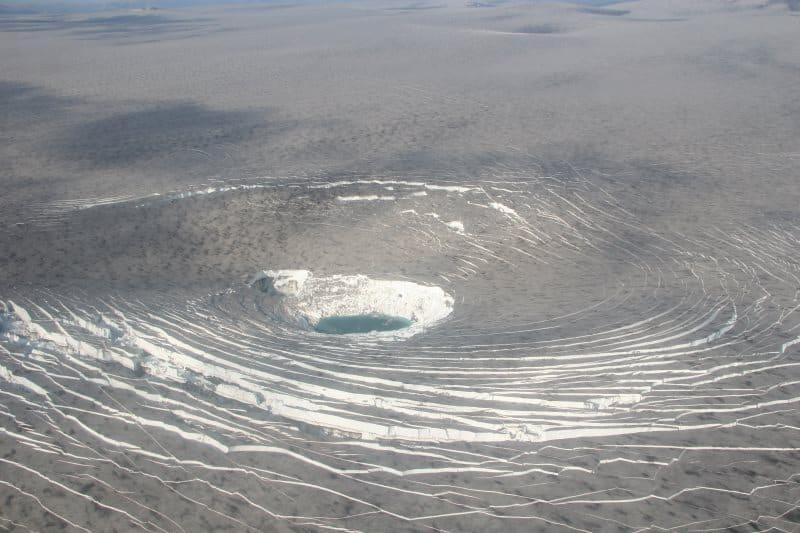 Caldera du volcan Katla