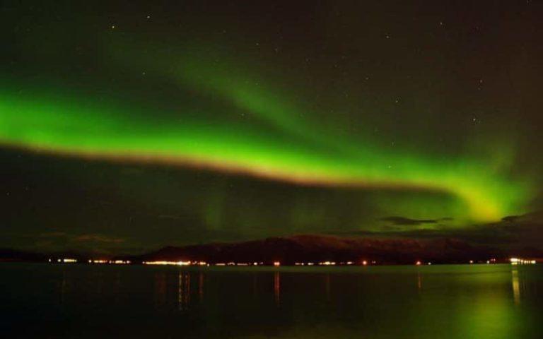 L'Islande illuminée par de magnifiques aurores boréales