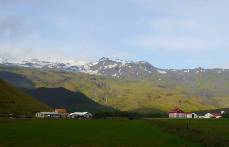 Glacier Eyjafjallajökull