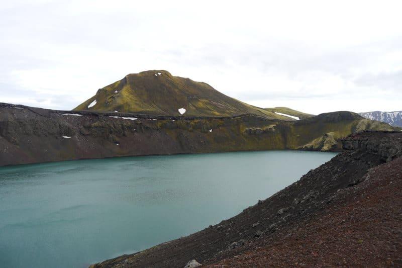 Lac cratère de Ljótipollur