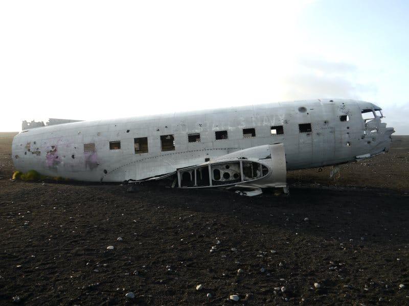 DC-3 à Sólheimasandur