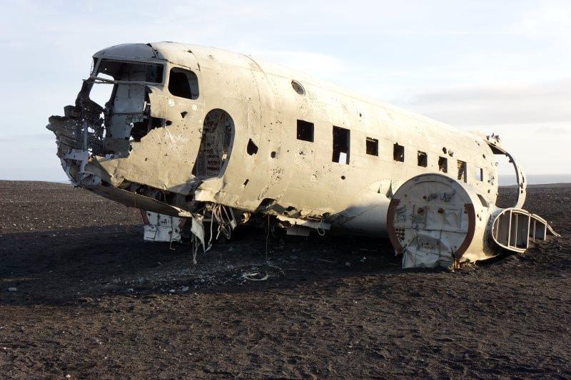 Epave DC-3 Islande