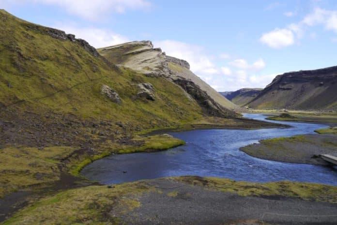 Eldgja en Islande