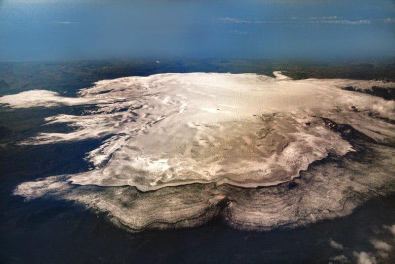 Glacier mýrdalsjökull