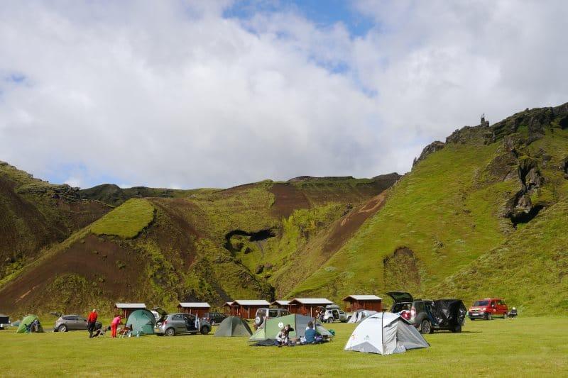 Camping de Þakgil