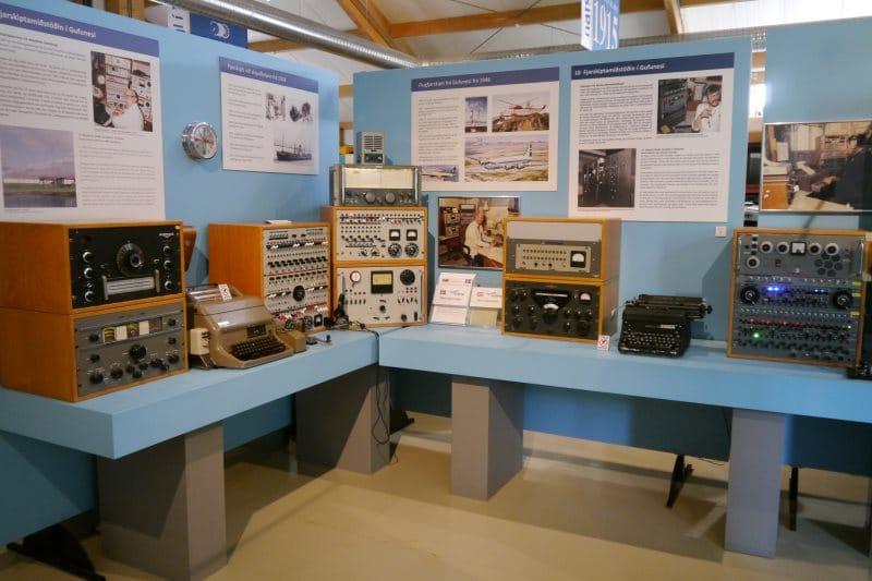 Musée de Skogar télécomunication