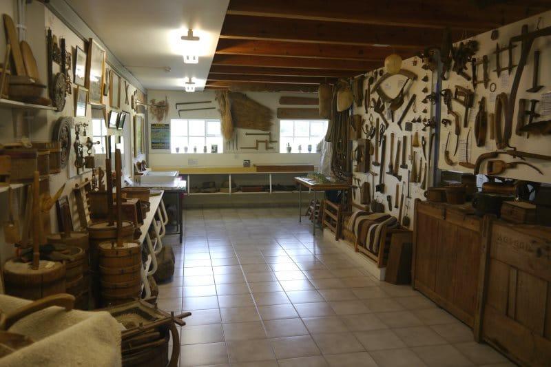 Artisanat Islandais dans le musée de Skogar