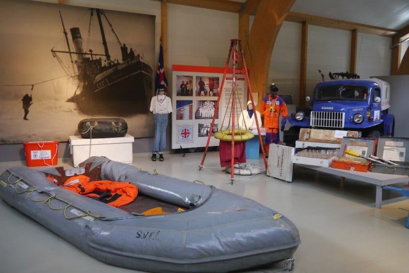 Skogar Museum secours