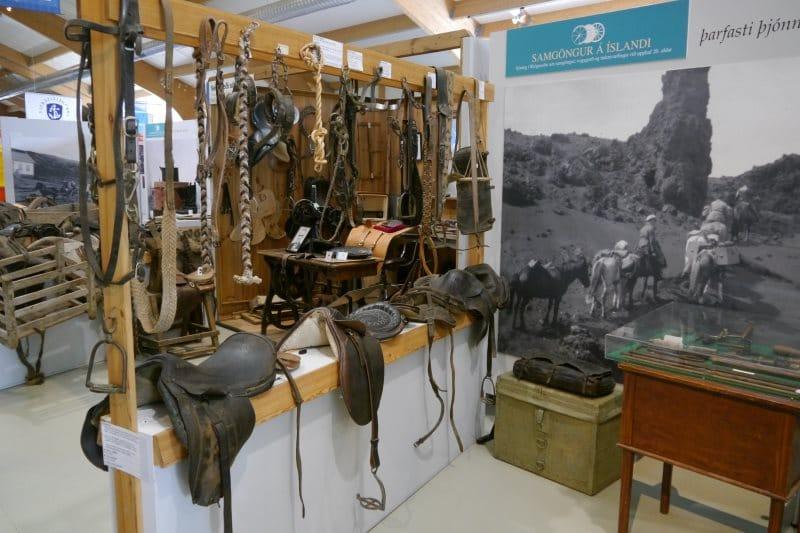 Skogar Museum transport avant la voiture