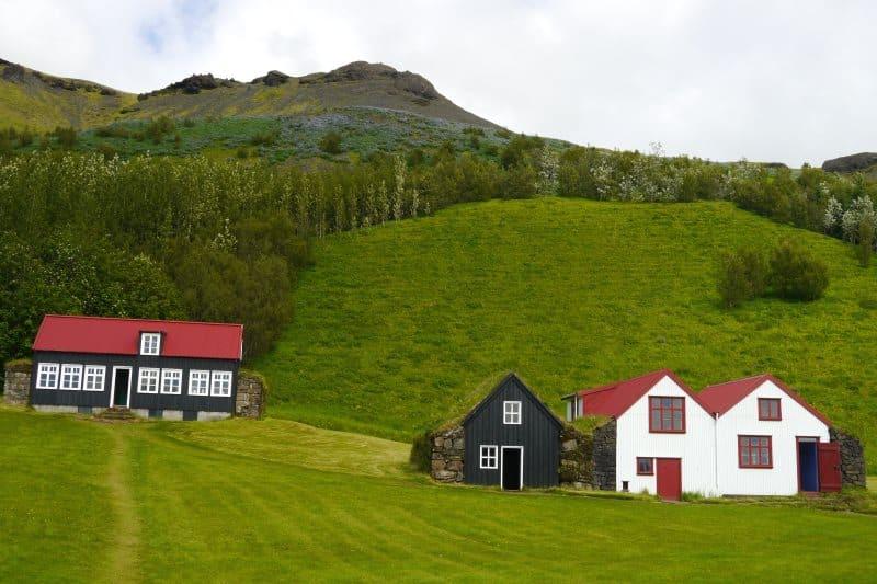 Ferme musée de Skogar