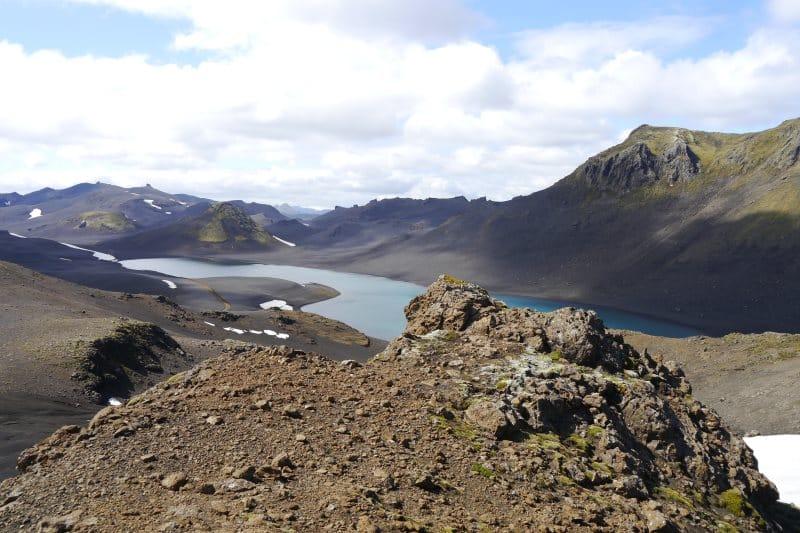 le sud du lac Langisjór