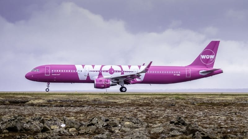 Wow air en Islande