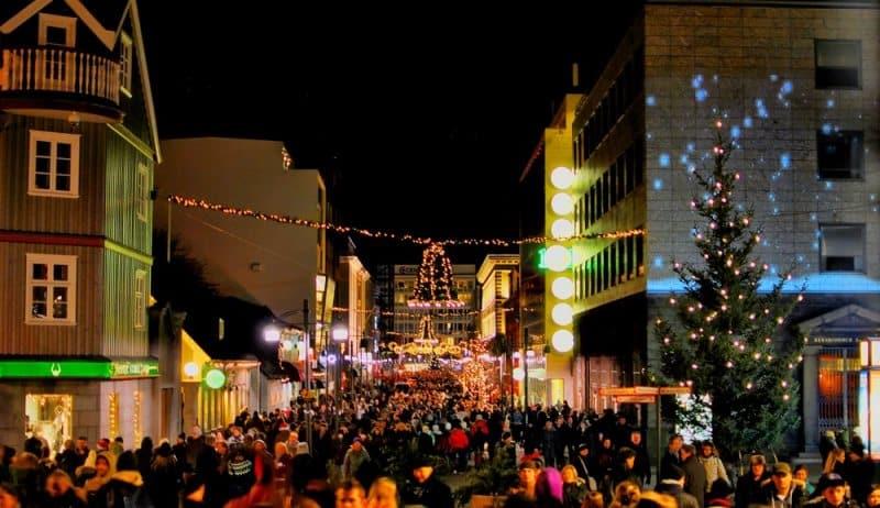 Noël à Reykjavik