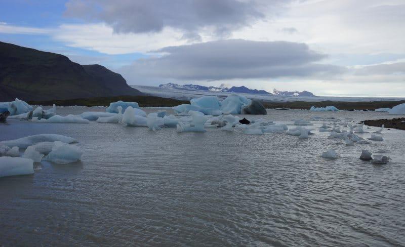 Lac proglaciaire Fjallsarlon
