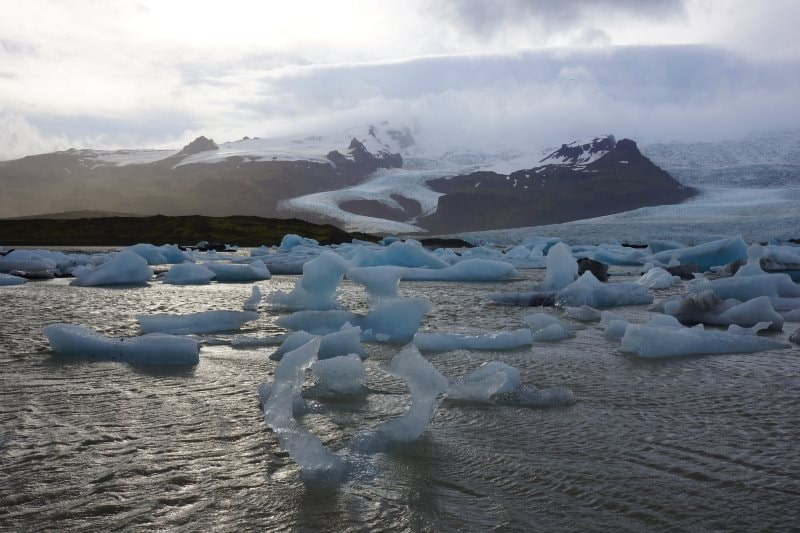 Le lagon glaciaire de Fjallsárlón