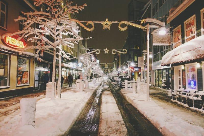 Islande à Noël