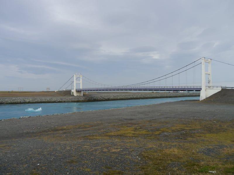 Pont du lac de Jokulsarlon
