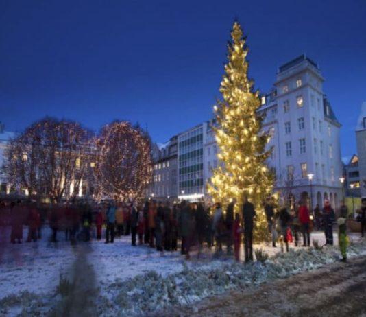 Reykjavik à Noël