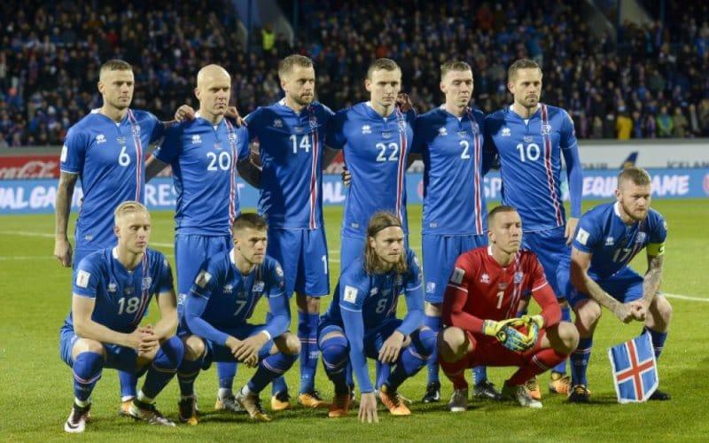 l islande s est qualifi 233 e pour la 1 232 re fois 224 la coupe du