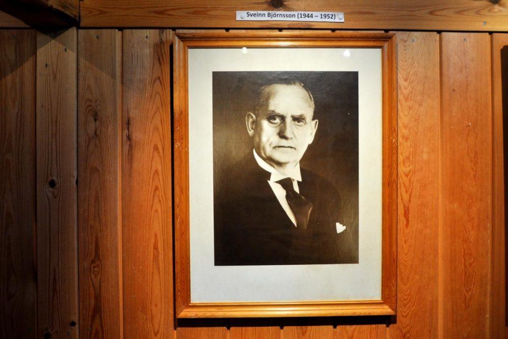 Sveinn Björnsson, le tout premier président islandais !