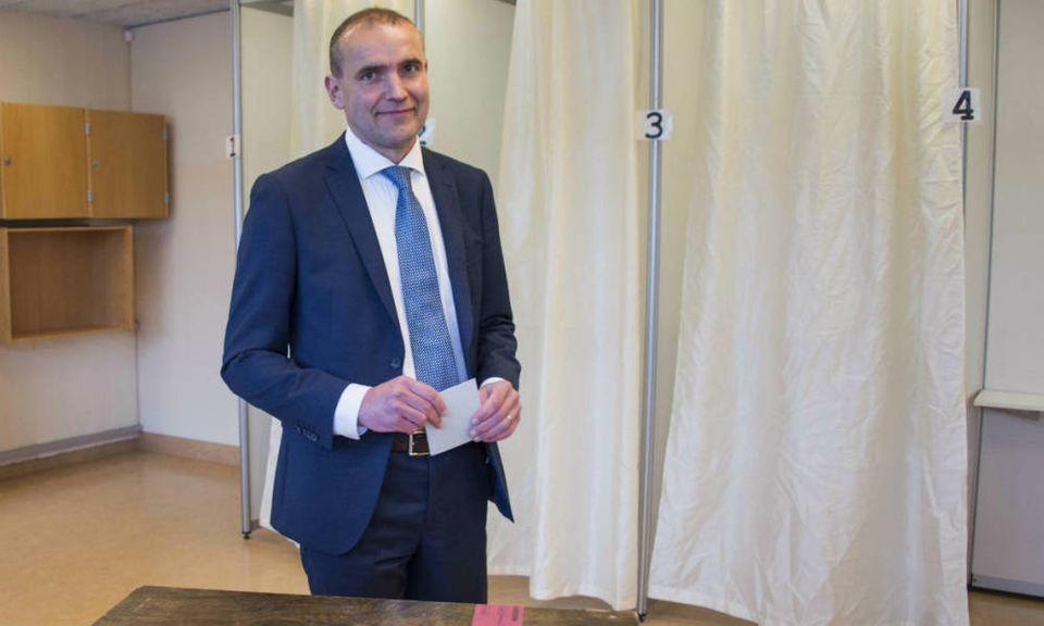 Gudni Johannesson, président de l'Islande depuis le 1er août 2016