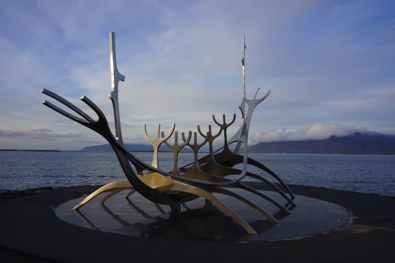 Le voyageur du soleil à Reykjavik