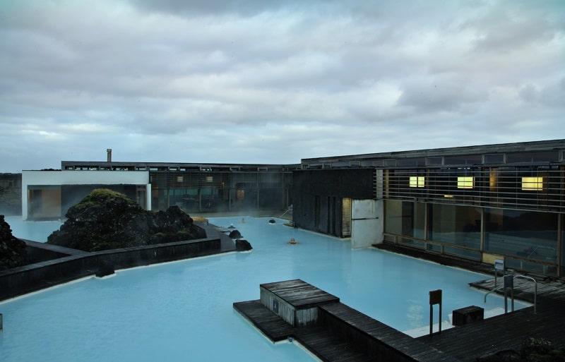 bâtiment du blue lagoon