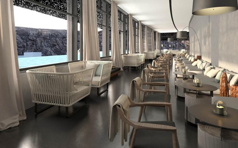 Café et restaurant au Lagon Bleu