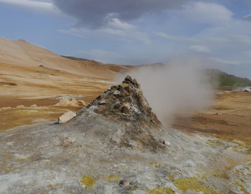 Chalmp géothermal de Hverir Námafjall