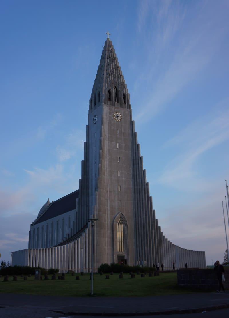 Hallgrímskirkja à Reykjavik