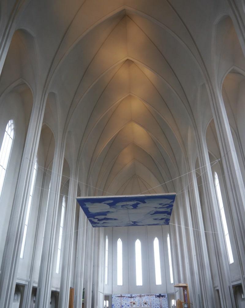 Intérieur de l'Hallgrímskirkja