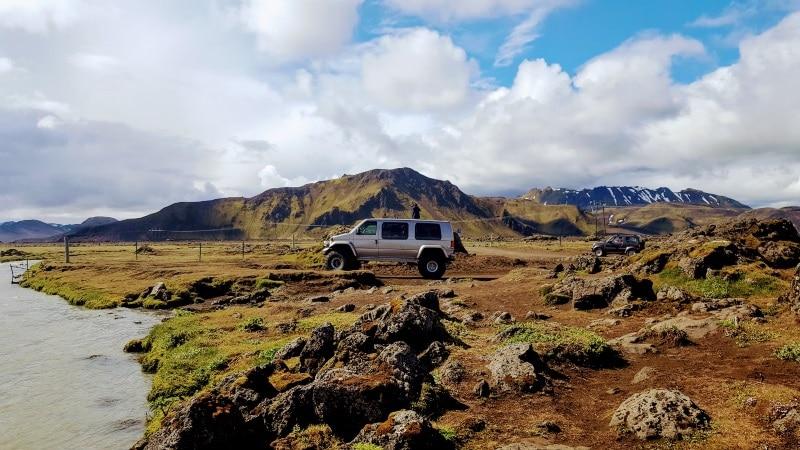 Excursion en Super Jeep