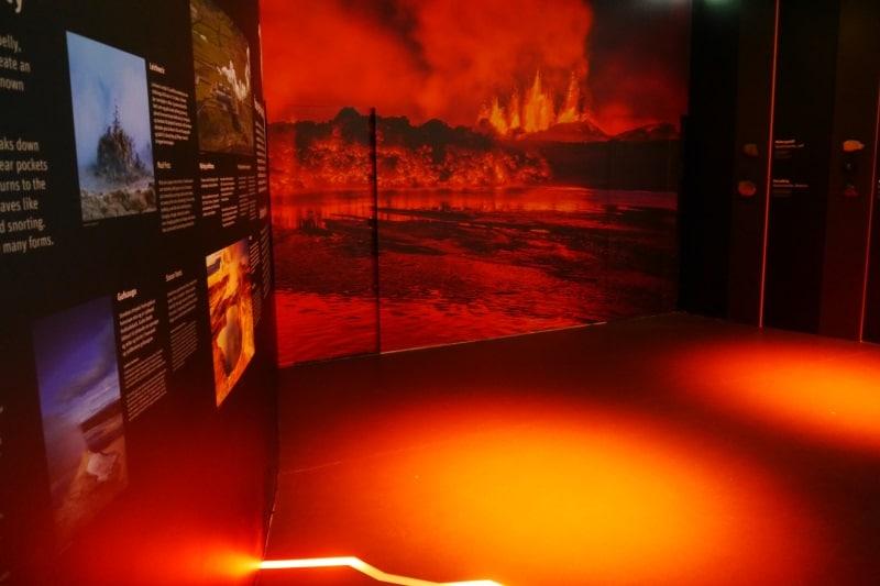Exposition géologique Perlan