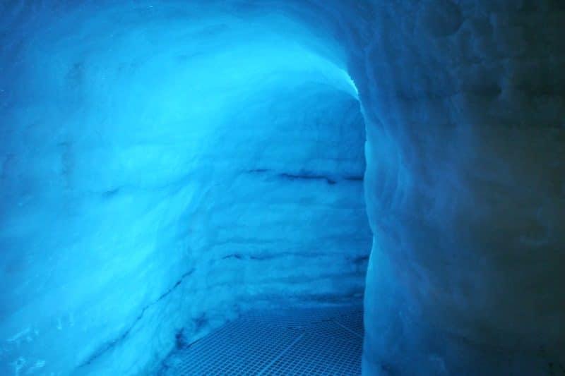 Perlan grotte de glace