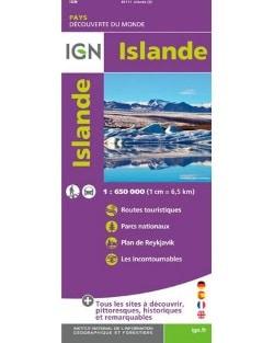Carte Islande IGN